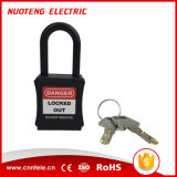 [38مّ] نيلون قيد أمان إغلاق قفل مع ذو مفتاح بشكل