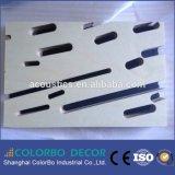 Personalizzato tagliando il pannello acustico della fibra di legno del pannello