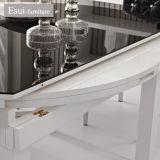 緩和されたガラスおよび熱い販売のダイニングテーブルはセットした(CZ006B#)