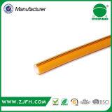 Manguera de alta presión agrícola amarilla del aerosol del PVC del PVC Corea