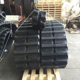 Trilha de borracha 600*125*62 de Hanix Rt 800 para a construção/agricultura