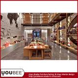 Manifacture de la exhibición de la tienda de la ropa de deportes de la alta calidad, diseño de la tienda del concepto de la bicicleta de la fábrica