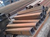 Трубы тонкой стены GR b ASTM A500 стальные прямоугольные