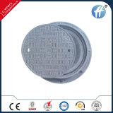 Крышка люка -лаза En124 500mm круглая SMC/BMC составная