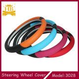 Nuevo diseño del cuero de la fibra para la cubierta de rueda de Steeirng