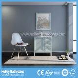Vanità classica di vendita calda della stanza da bagno di legno solido di stile americano (BV218W)