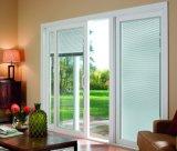 Puertas deslizantes de la doble vidriera para el balcón con la prueba del aislante y del sonido de calor (CL-D2004)