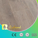 Le chêne de parquet d'érable de noix de la planche E0 HDF de vinyle a ciré le plancher en bois stratifié bordé