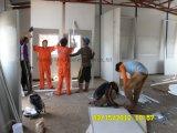 強い鉄骨フレームが付いている現実的な住宅建設を完了しなさい