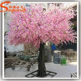 Flor de cereza artificial rosado del árbol para la decoración del jardín
