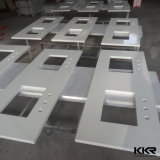 Custom Made Pure White Artificial Quartz Countertops