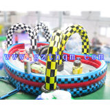 Inflatable Jump Bed 또는 Inflatable Jumping Castle/Children Bouncer Castle 경주