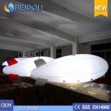 Aerostato gonfiabile LED dell'elio dell'aria del PVC che fa pubblicità al piccolo dirigibile del dirigibile di RC