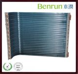 Fin di alluminio Heat Exchanger Condenser con Copper Tube