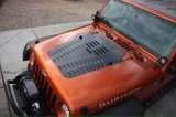 Lantsun Poison Spider Hood Louver für Jeep Wrangler Jk