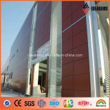 Exterior Usage를 위한 Ideabond 1220*2440mm PVDF Aluminium Composite Panel