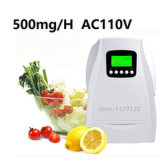 500mg/H Portable Cycle Working Ozone Air Water Purifier Ozone Generator per Fruit e Vegetables