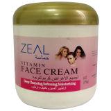 Produits de beauté de ramollissement et d'hydratation de crème de face de vitamine d'ardeur
