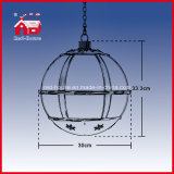 Lâmpada de suspensão da decoração do Natal da lâmpada do festival vermelho interno