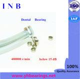 Balanceo que lleva el rodamiento de alta velocidad de cerámica Sr144 del acero inoxidable de la bola del rodamiento dental