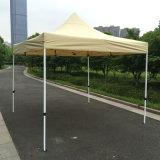 3X3m Tan im Freienstahl knallen oben Gazebo-faltendes Zelt