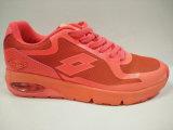 최신 인기 상품 여자를 위한 주황색 공기 방석 편평한 신발