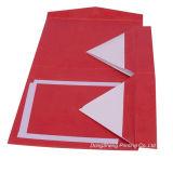 Коробки ювелирных изделий/Jewellery бумаги картона Fasional красные розовые складные