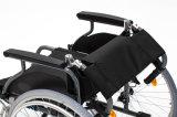 Aluminium, pli en arrière, fauteuil roulant, poids léger, manuel (AL-001B)