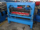 Trapazoidal chaud a glacé le pain modulaire en acier de toit de tuile formant la machine