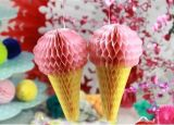 Lanterne di carta d'attaccatura a buon mercato cinesi del favo di alta qualità per la decorazione