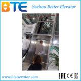 牽引のVvvfの水平の回転を用いる円のパノラマ式の乗客のエレベーター