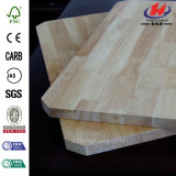 Tabella pranzante rotonda di legno di gomma classica di legno solido