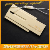 Tag de vestuário do cair do papel do Tag do cair para a roupa (BLF-T020)