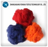 Farbige feste Polyester-Spinnfaser