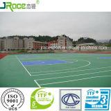 Grüner Produkt-Tennis-Gerichts-Fußboden von Guangdong