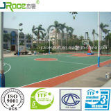 De groene Vloer van de Tennisbaan van het Product van Guangdong