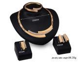 la nuovi collana/orecchino dell'oro 18k ha impostato per le donne (C-XSST0034)
