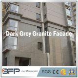 Темная популярная дешевая Polished плитка фасада гранита для внешней стены/пола