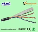 Напольные кабель LAN/сеть Cable/UTP Cat5e