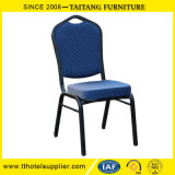青いスタッキングの金属のTiffanyの結婚式の椅子