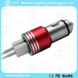 De Lader van de Auto van de Hamer van de Output van de input 12V 24V gelijkstroom 5V 2.1A (ZYF9104)