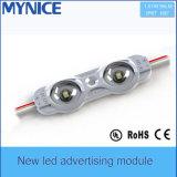 El Ce y RoHS 1W 95lm de la UL impermeabilizan el LED que hace publicidad del módulo con la lente