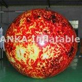 Раздувная картина Sun глобуса воздушного шара планеты