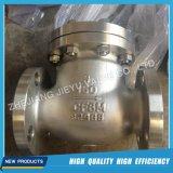API 6D fundición de acero Wcb / WCC / Lcb / Lcc válvula de retención de agua