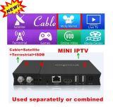 人間の特徴をもつOS DVB-T/DVB-S/DVB-C + IPTVコンボのDreambox