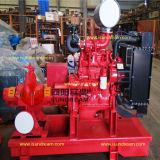bomba de agua centrífuga de la lucha contra el fuego del motor diesel 750gpm-1250gpm UL/FM determinado enumerada