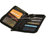 Bolso al aire libre de la tarjeta del pasaporte del almacenaje del recorrido del asunto de la calidad (CY3524)