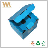 Blue Strong Courrgated Paper Packing Box for Cup