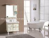 Самомоднейший вися шкаф ванной комнаты PVC керамической ноги шкафа ванной комнаты Countertop съемный