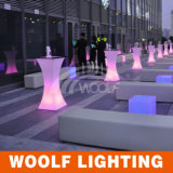 Color Changing LED Furniture LED Bar Table Table basse à LED